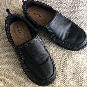 Kids size 12 black dress shoes